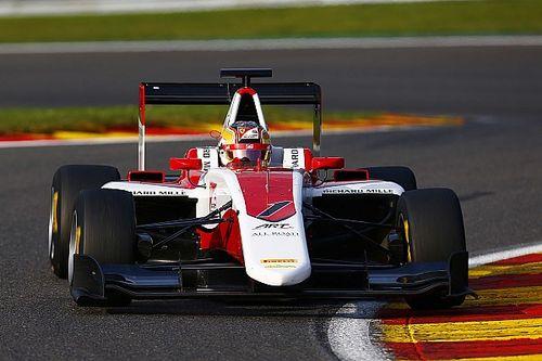 Spa GP3: Leclerc on pole, Albon makes critical error