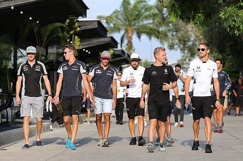 "Kvyat claims F1 driver briefings are like ""big kindergarten"""