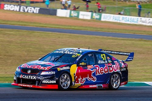 Ipswich Supercars: Van Gisbergen wins Triple Eight thriller