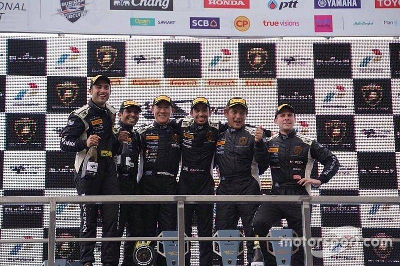 Buriram Super Trofeo: Ebrahim/Malagamuwa score another double podium