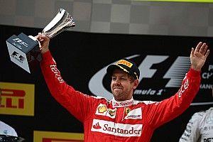 Ferrari on the podium in Shanghai