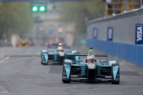 NextEV TCR Team ahead of a new city centre venue in the Berlin ePrix