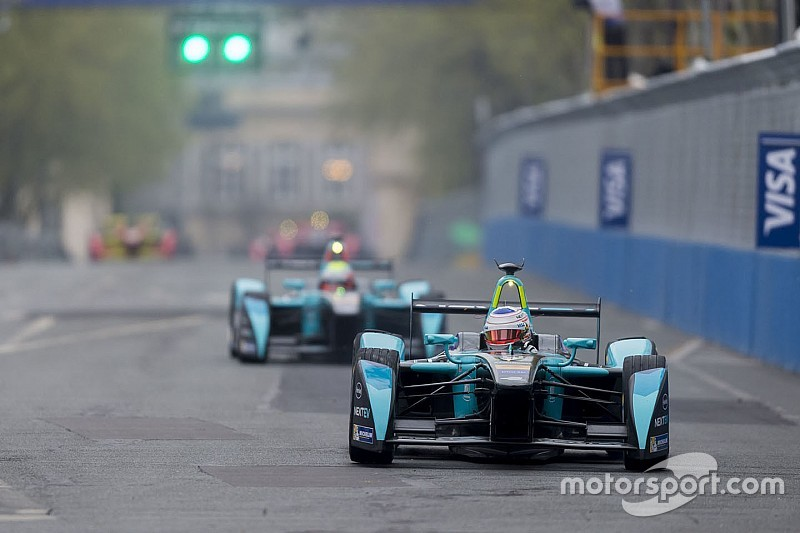 NextEV TCR Formula E Team: Paris ePrix Report