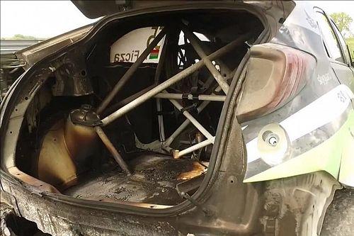 In fiamme la Civic di Ficza, a rischio l'Hungaroring per la Zengő Motorsport!