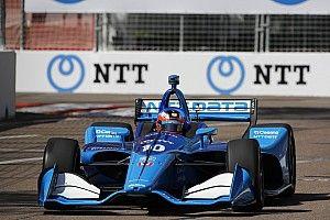 "Rosenqvist: Grid slot for IndyCar debut feels like ""gift"""