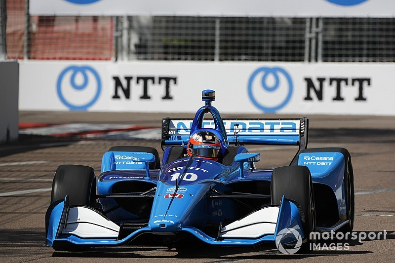 "Rosenqvist: Grid slot for IndyCar debut feels like ""gift"""
