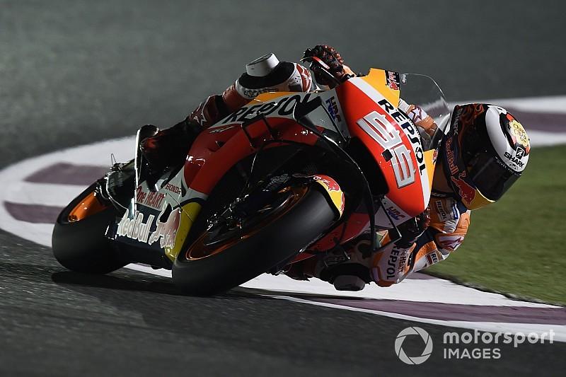 Lorenzo kampt met rugklachten, Marquez kan leven met P3