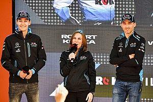 Russell és Kubica tiszta szívből küzdene a Williamsért az utolsó helyeken