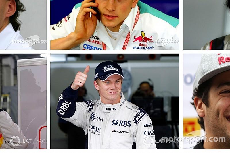 Galeri: Formula 1 pilotlarının yıllar içerisindeki değişimi