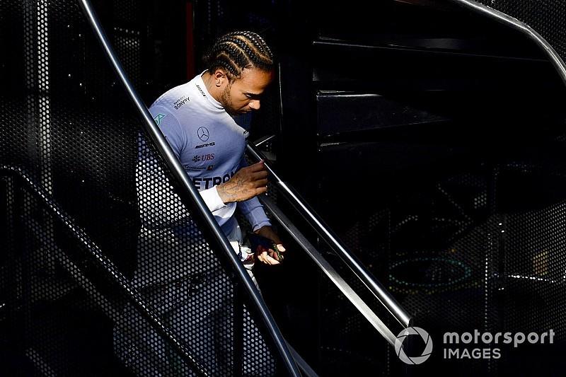 Hamilton a essayé de nouvelles méthodes d'entraînement