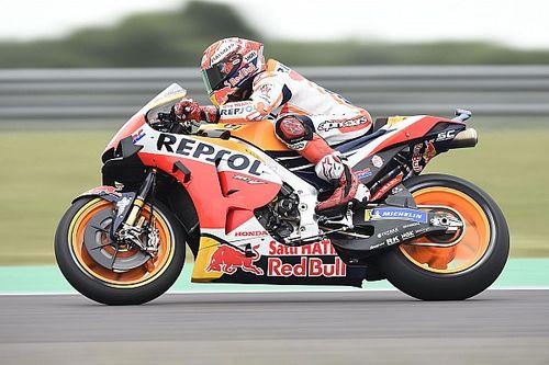 Argentina MotoGP: Marquez leads Vinales in warm-up