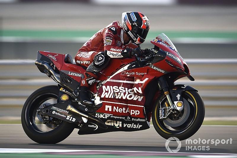 Test MotoGP Losail, Giorno 3: la Ducati di Petrucci in vetta dopo le prime due ore