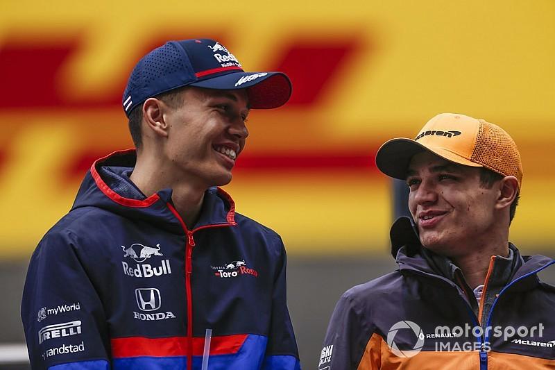 Albon: Red Bull programında olmanın getirdiği baskıya alışkınım