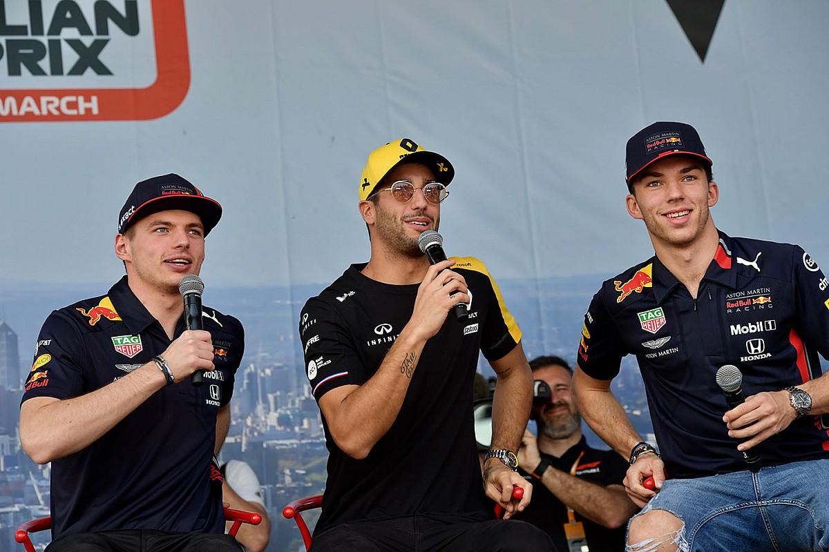 """Ricciardo: La rétrogradation de Gasly """"n'est pas injuste"""""""