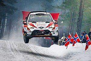Las mejores fotos de las primeras etapas del Rally de Suecia 2019