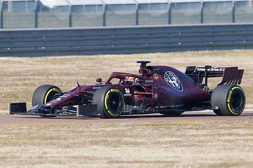Alfa Romeo Racing: Raikkonen completa senza problemi 32 giri a Fiorano