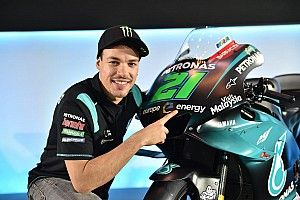 Morbidelli: Having same bike as Rossi will help us both