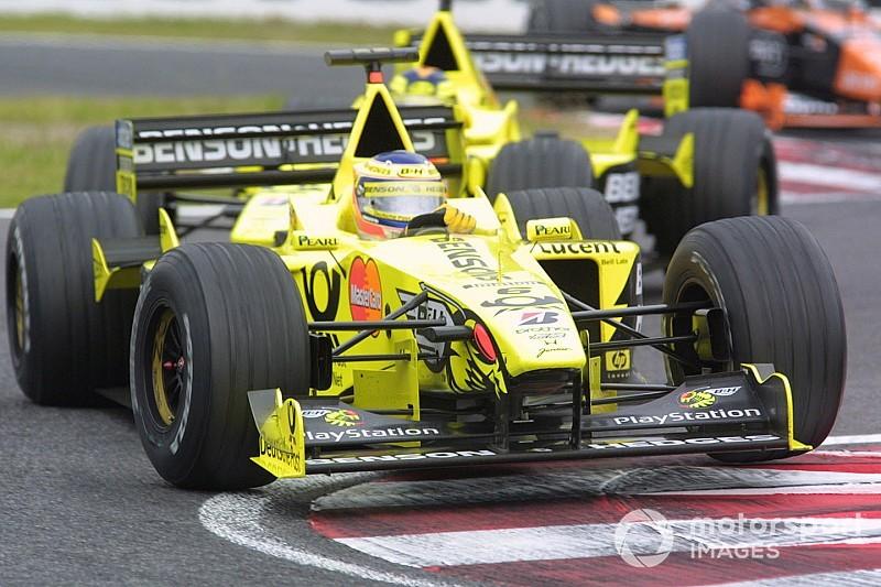 A Jordan F1-es istálló 10. versenygépe: EJ10