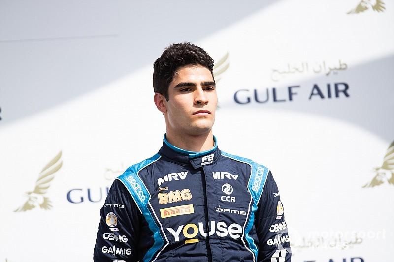 Sette Câmara comemora 2º lugar, mas admite decepção de ter perdido vitória no Bahrein na F2