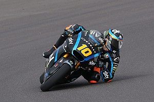 Moto2, Mugello, Libere 1: Luca Marini si prede la vetta davanti ad Alex Marquez