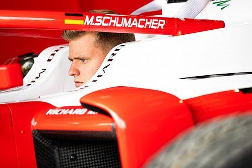 Trudne początki Schumachera
