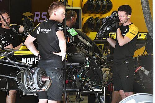 Renault: nel GP di Spagna debutta un motore evoluto sulla R.S.19