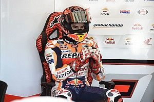 """Márquez: """"Me han tenido que frenar, me han cogido y me han sentado en la silla"""""""