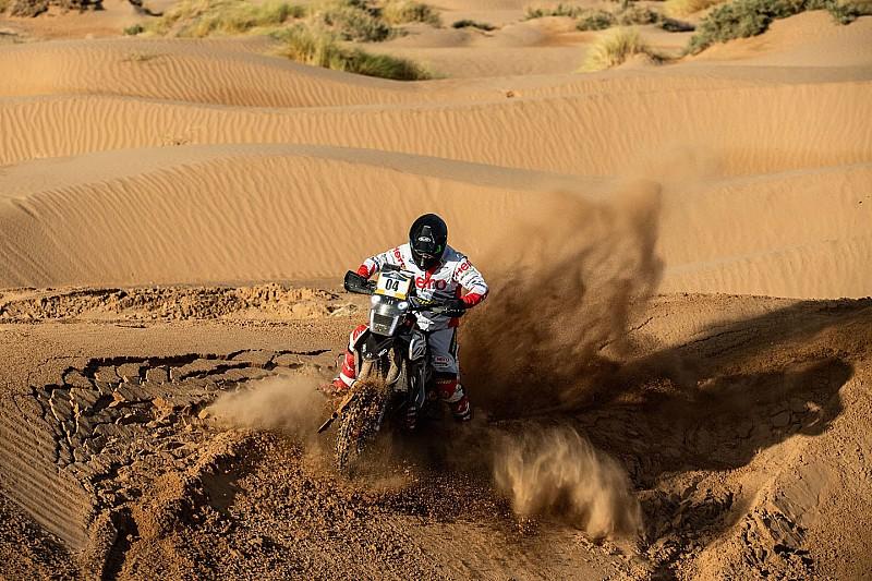 Hero starts off Merzouga Rally with top 10 finish