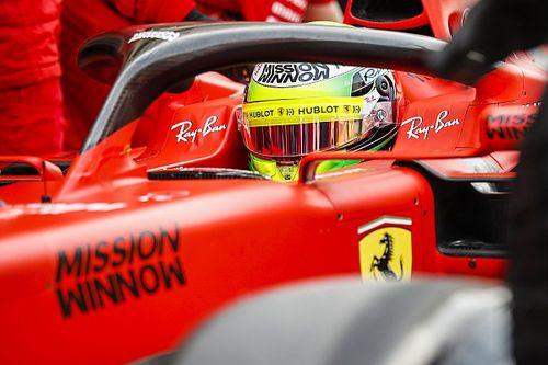 Gallery: Mick Schumacher drives Ferrari in Bahrain testing