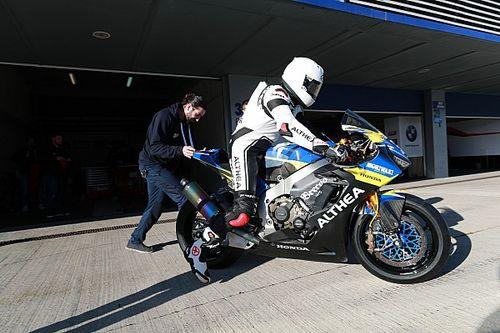 """Delbianco: """"Non mi aspettavo così tanta potenza, ma è un onore essere in Superbike"""""""