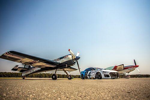 GT Sprint Race participa de Campeonato Brasileiro de Acrobacia Aérea e expõe carros