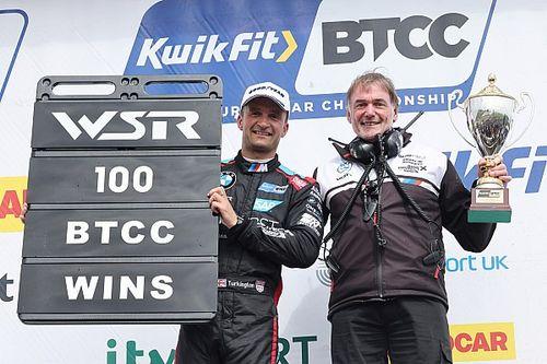 Knockhill BTCC: Turkington dominates opener to take WSR's 100th win