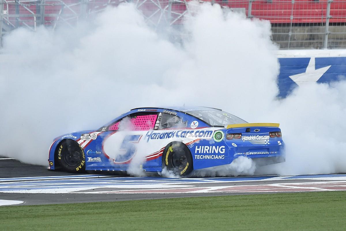 NASCAR Charlotte-Roval: Kyle Larson siegt - vier Fahrer aus Playoffs raus