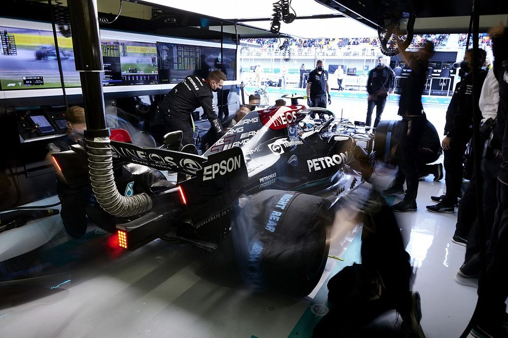 """El extraño """"ruido"""" del motor que preocupa a Mercedes F1"""