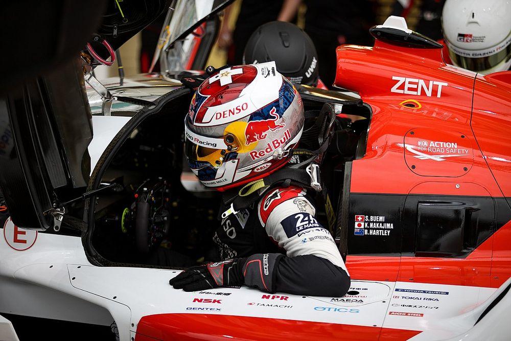 Buemi lidera un 1-2 de Toyota en la 2° práctica de Le Mans