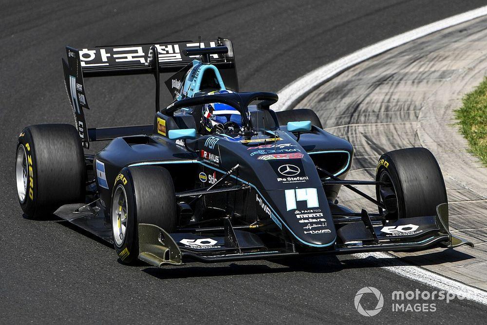 Nannini pakt Fittipaldi voor eerste F3-zege in tweede race Hungaroring
