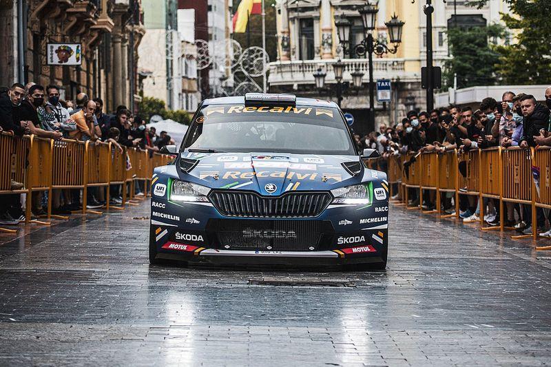 'Cohete' Suárez cierra el primer día del Rally de Asturias en cabeza