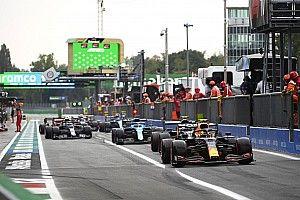 Aston Martin y Alpine son multados por el caos en los pits en Italia