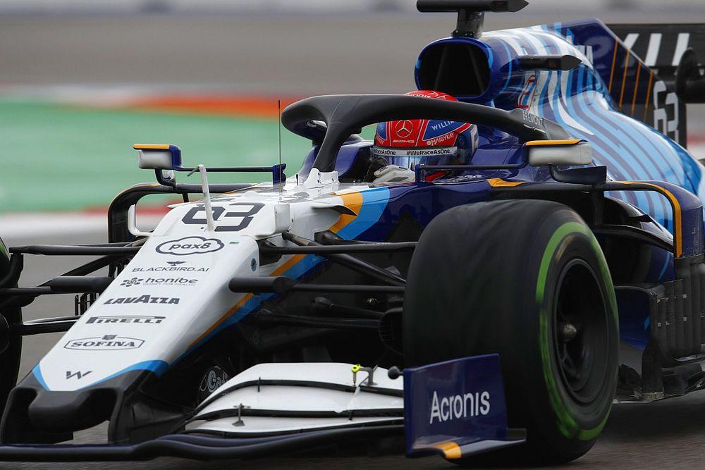 Russell ve posible el podio en Rusia con el Williams
