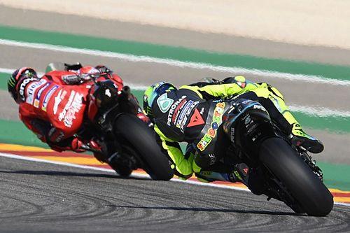 "Rossi: ""Ayer traté de hipnotizar a Pecco"""