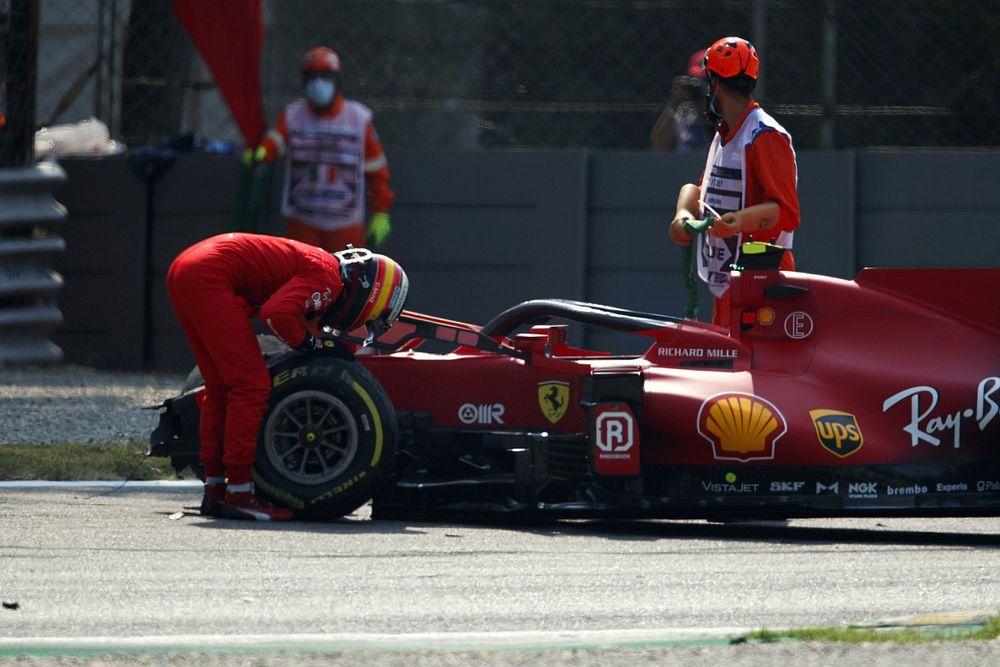 F1 Monza 2021: Hamilton Schnellster, Sainz crasht im Abschlusstraining