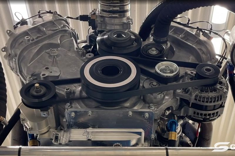 Supercars offers first look at Gen3 V8 motors