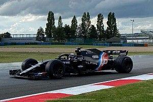 Pirelli lastik testinin son günü Alpine aracındaki sorun nedeniyle tamamlanamadı