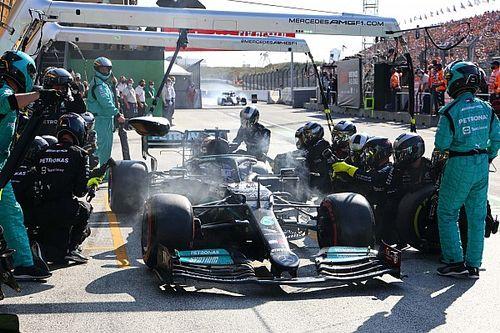 """F1: Brawn ficou """"surpreso"""" ao ver que Mercedes não arriscou terceira parada na Holanda para bater Verstappen"""