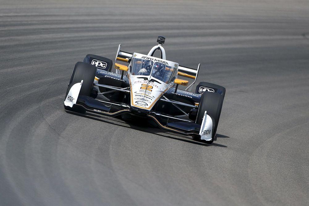 "Newgarden blames Gateway IndyCar Pagenaud contact on ""miscommunication"""