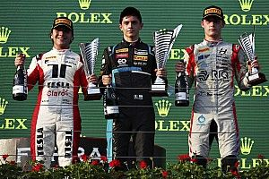 Hungría F3: Nannini derrota a Fittipaldi