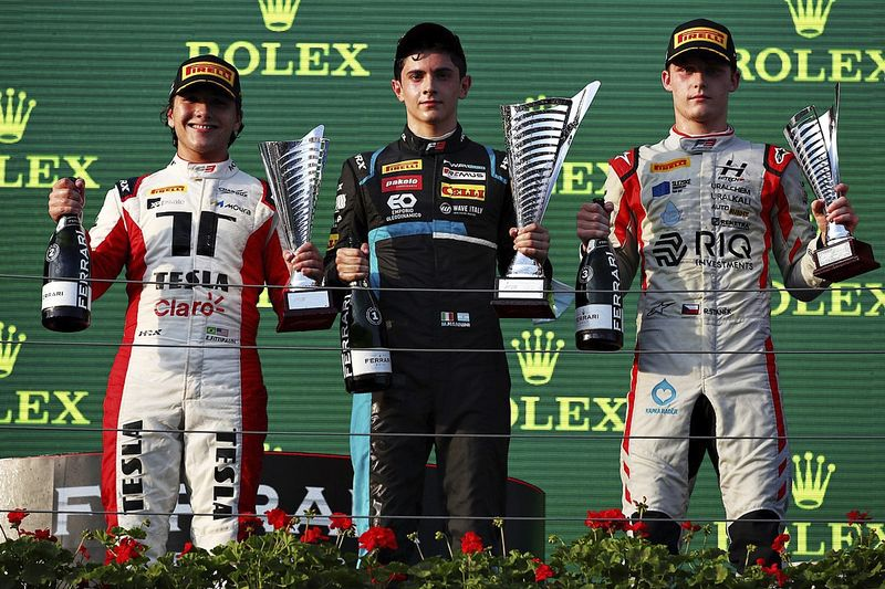 F3: Enzo Fittipaldi termina em 2º em prova na Hungria
