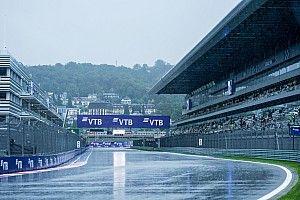 Así fue la alocada clasificación de la F1 en Rusia sobre mojado