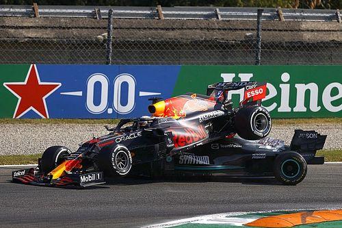 VIDEO: Verstappen y Hamilton la vuelven a montar en Monza