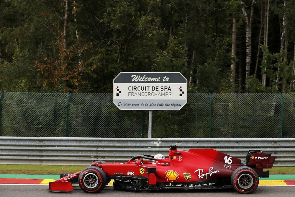 Leclerc nem volt túl elégedett autójával a trükkös körülmények között